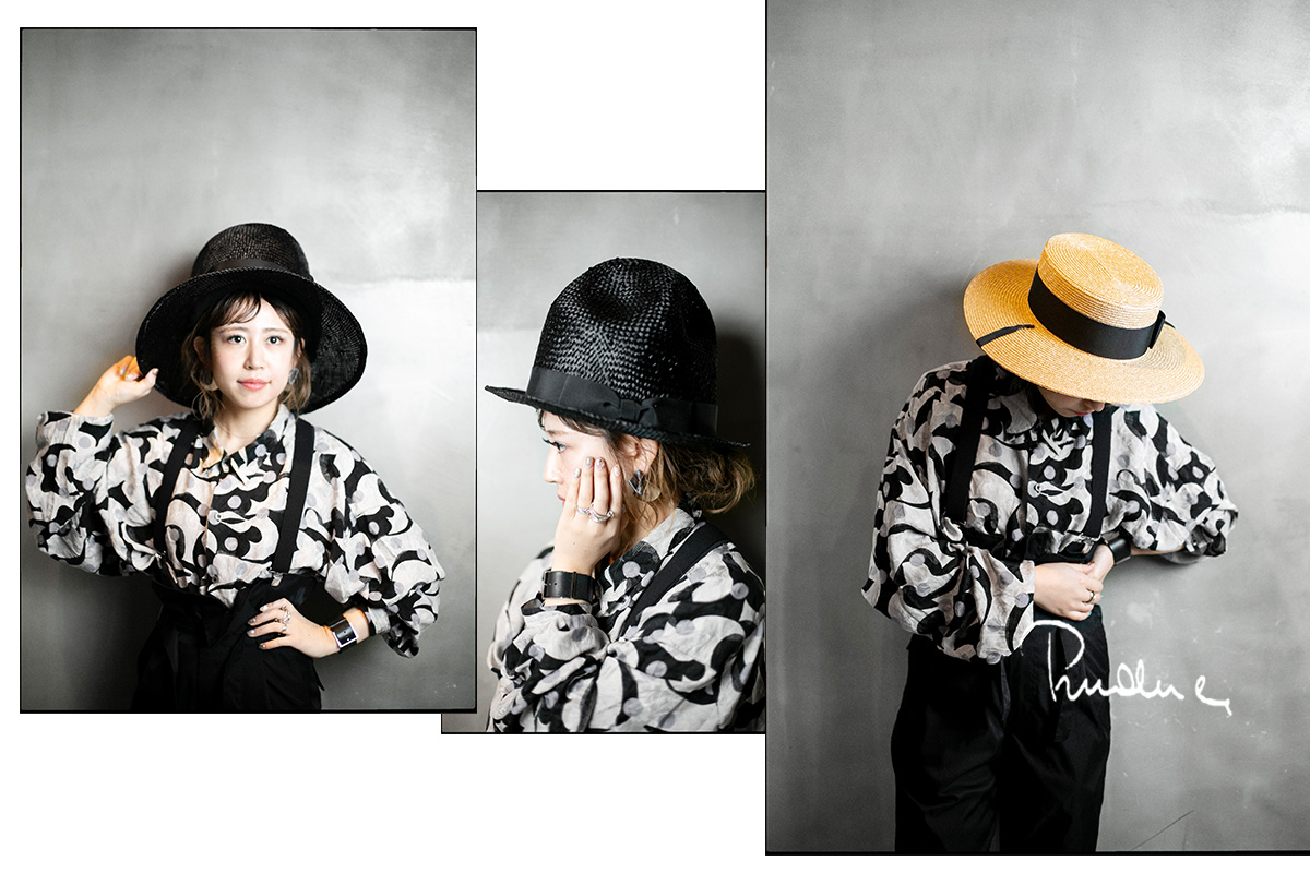Prudence Millinery 2019SS、ヴィヴィアンの帽子も手がけるPrudence