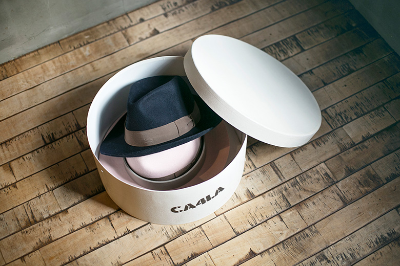 帽子の保管方法