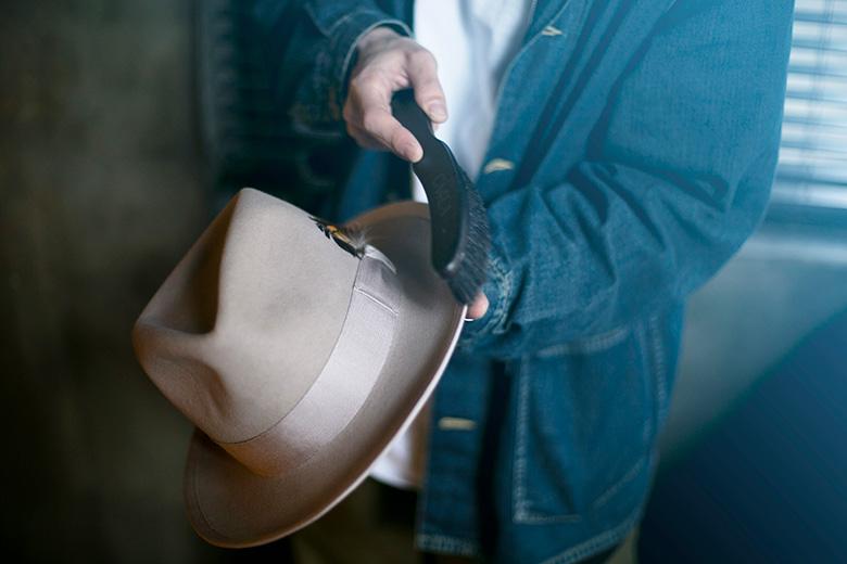 帽子のメンテナンス方法