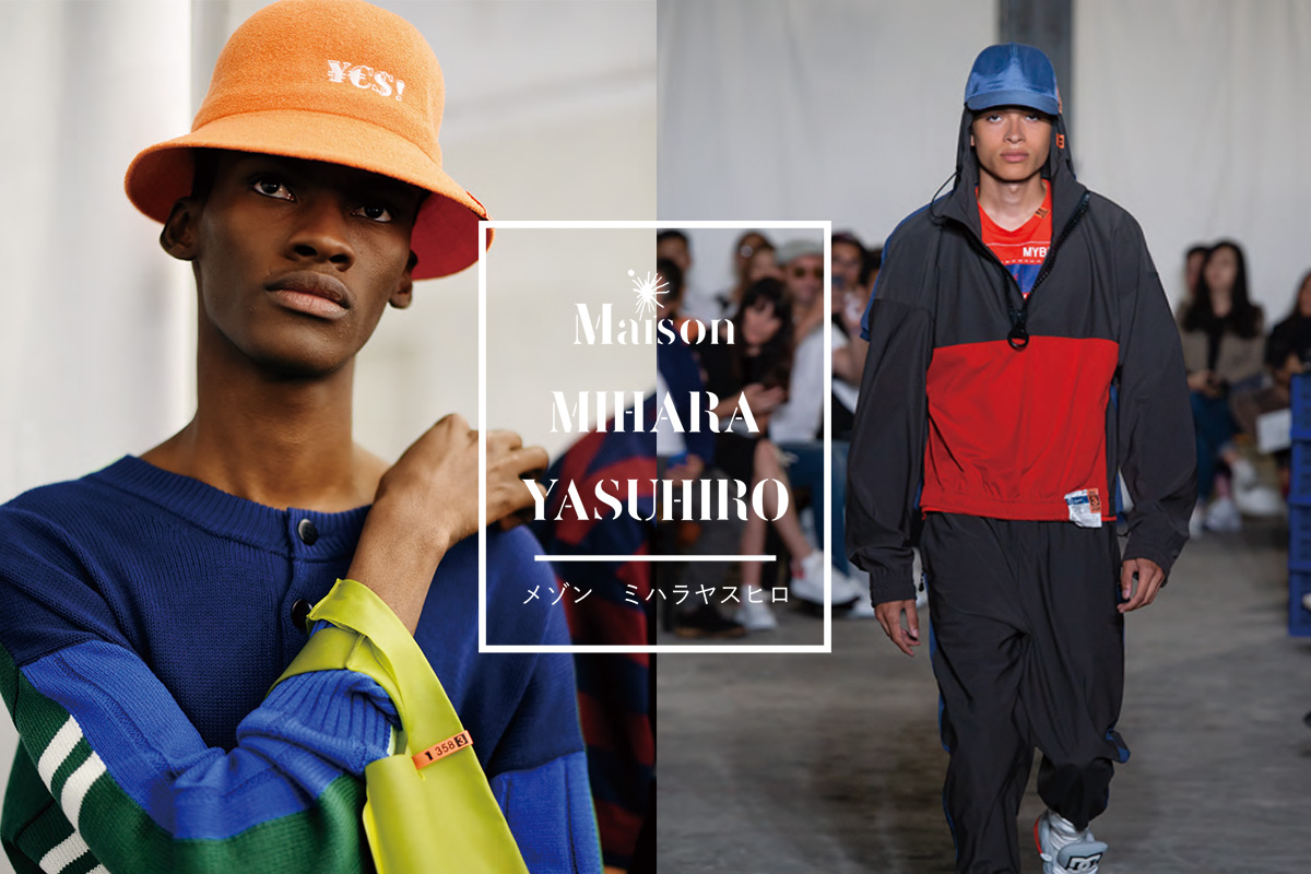 Maison MIHARA YASUHIRO x CA4LA 2019SS Collaboration