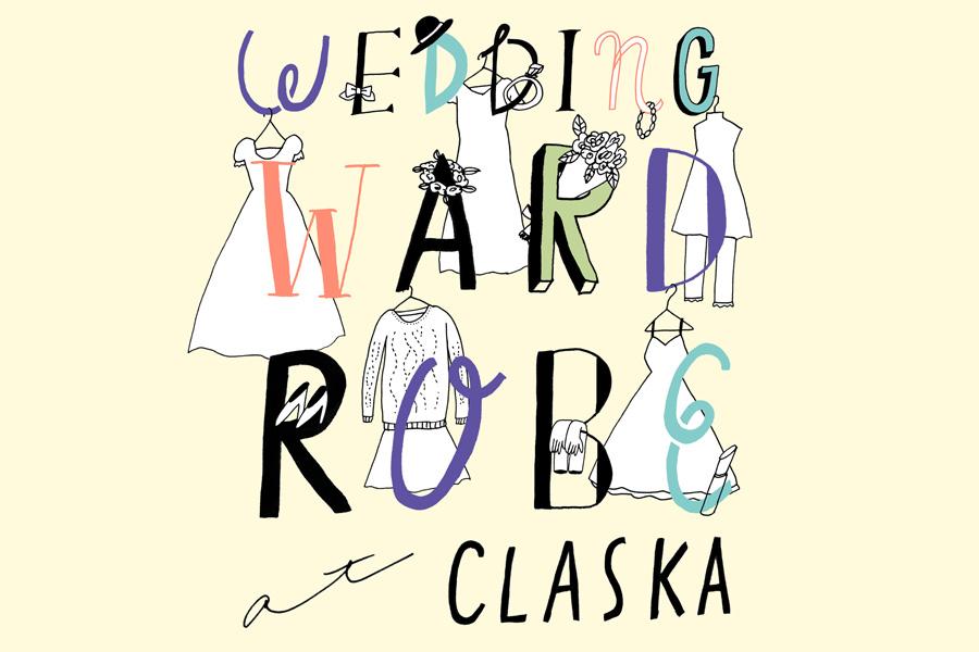 CLASKA「WEDDING WARDROBE」6/23(日)
