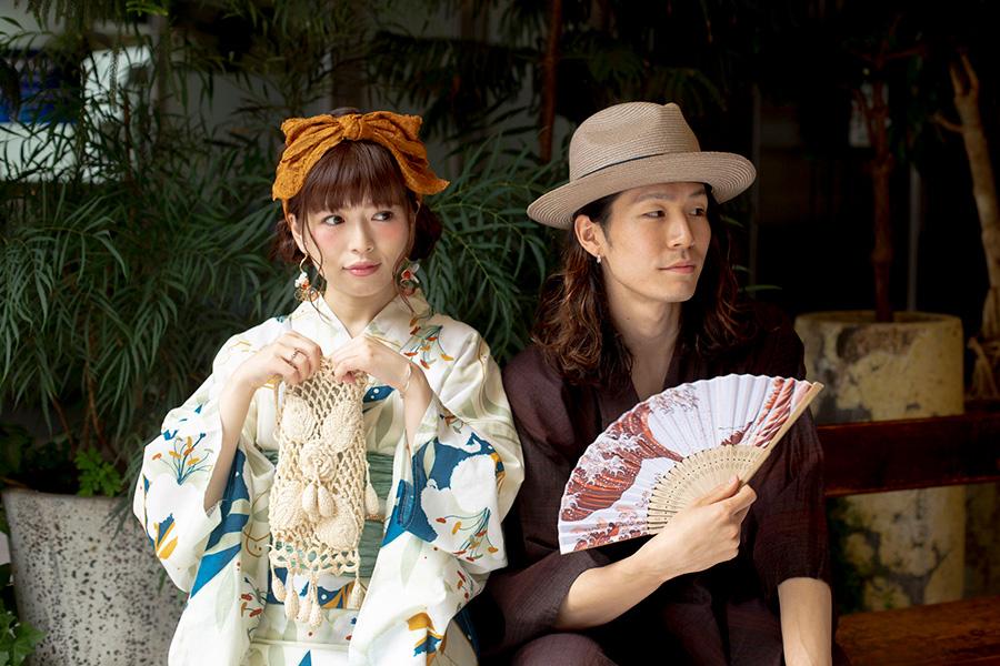 浴衣と帽子と、日本の夏 2019