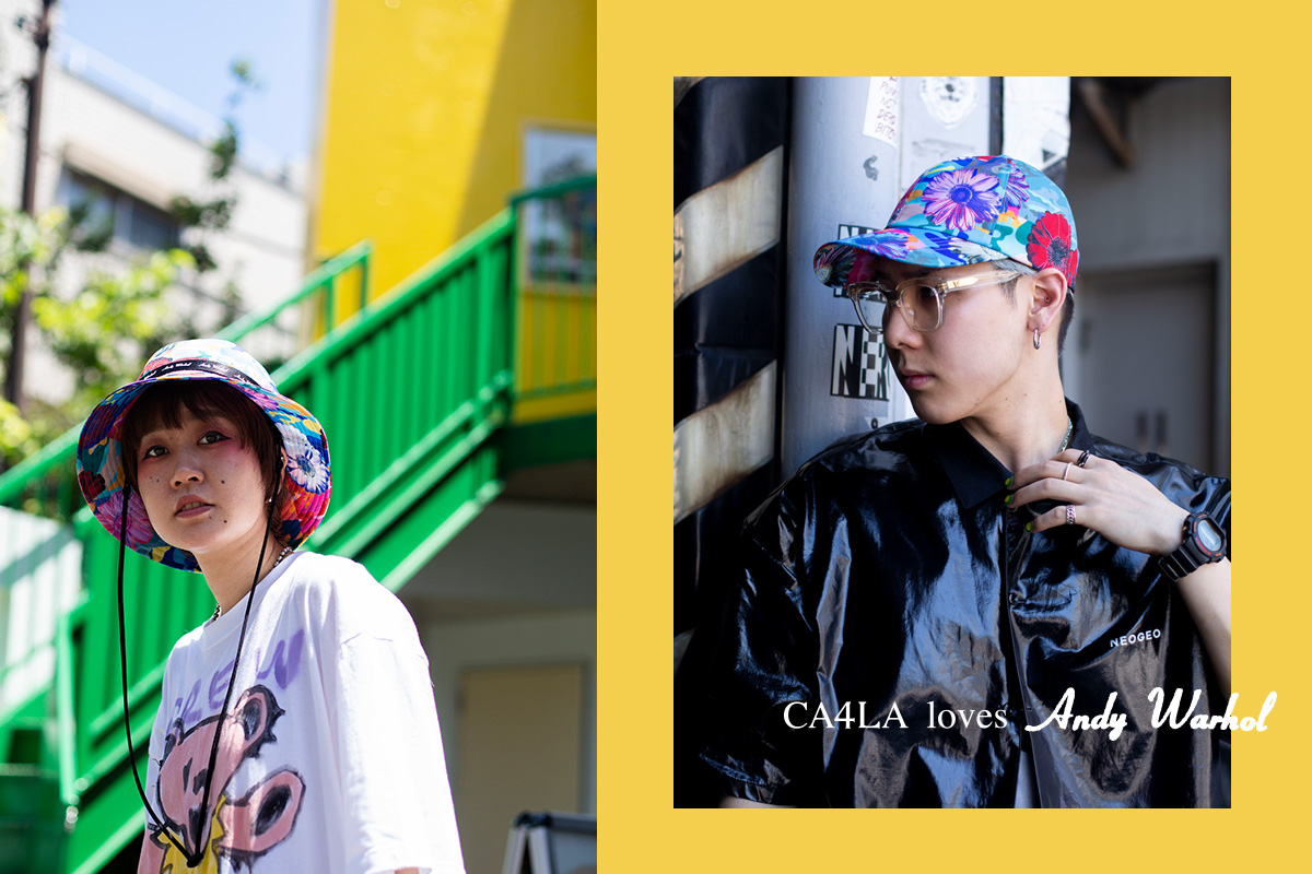 Andy Warhol x CA4LA 2019-20AW Pre Collection