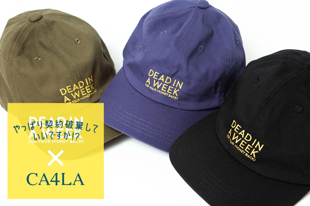 映画『やっぱり契約破棄していいですか!?』× CA4LA 8/30(金)発売