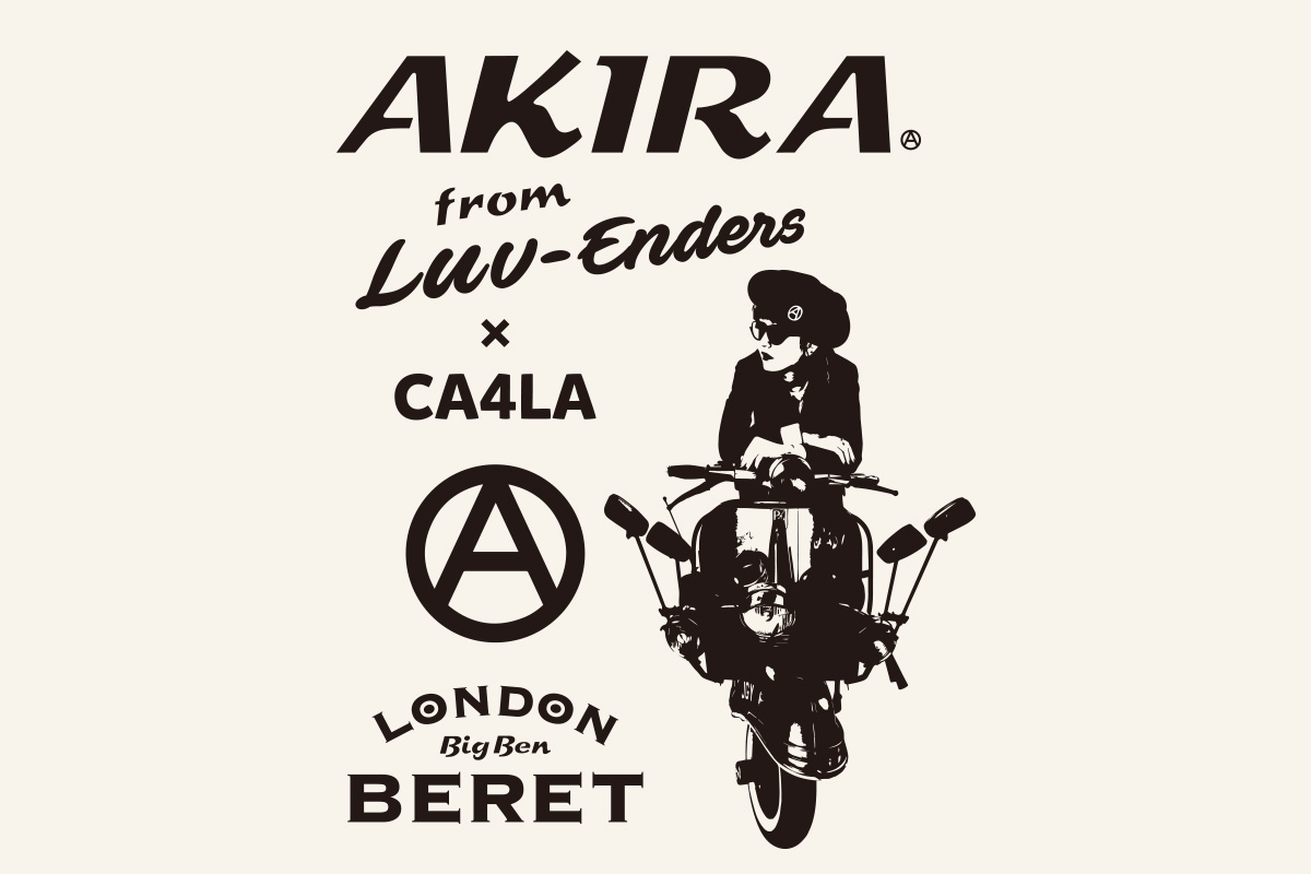 "AKIRA from LUV-ENDERS feat. CA4LA LONDON BERET ""BIG BEN"""