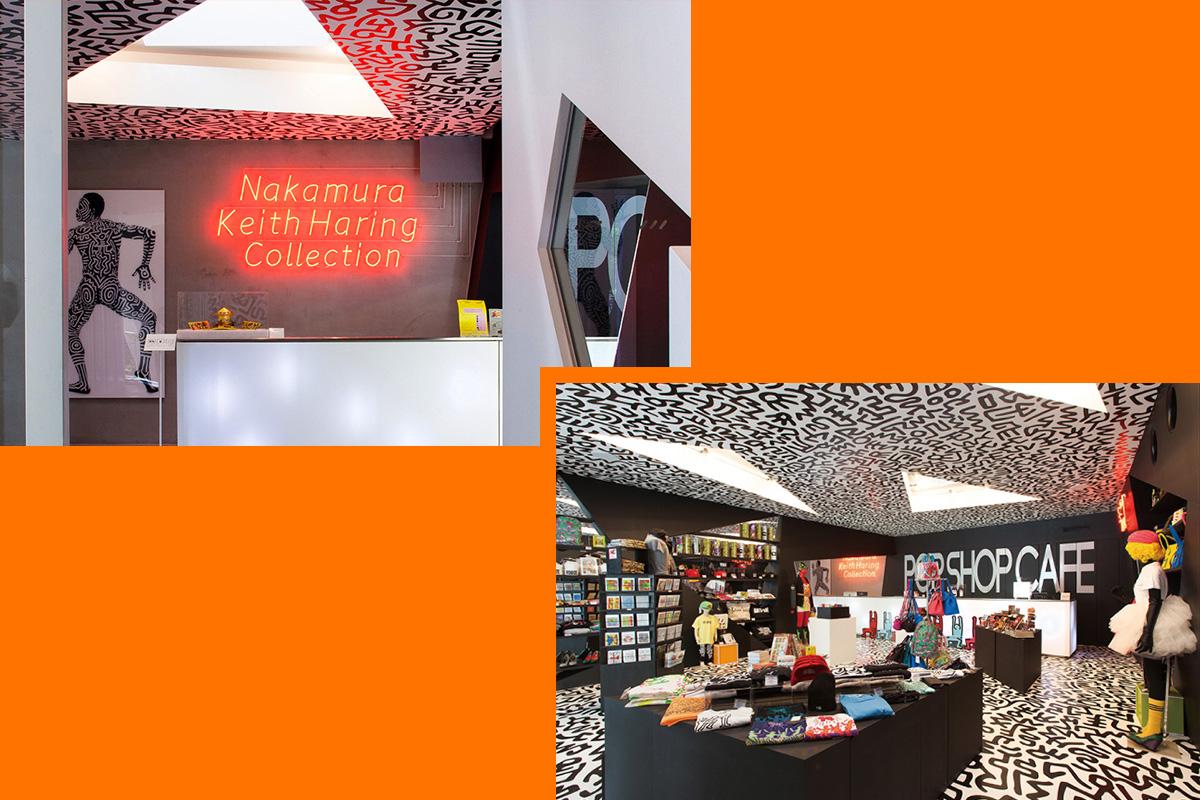 中村キース・ヘリング美術館でKeith Haring x CA4LAの取り扱いがスタート