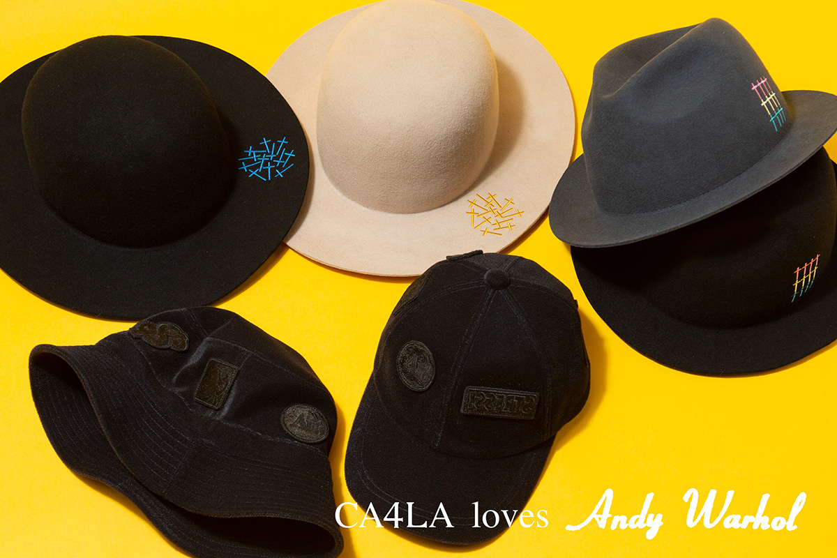 Andy Warhol x CA4LA – 2019AW HOLIDAY COLLECTION vol.2