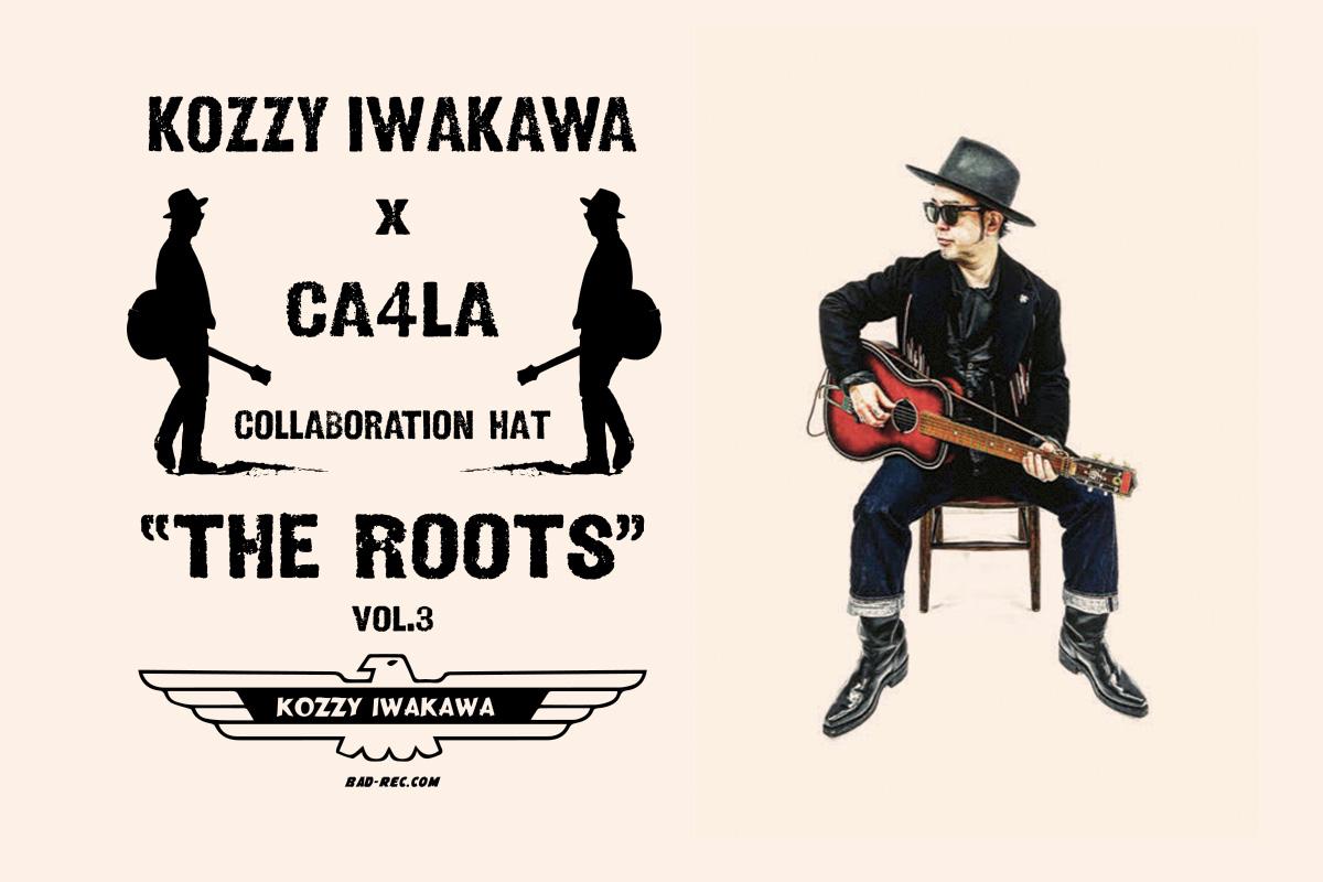 KOZZY IWAKAWA x CA4LA コラボレーション第3弾となるハットをリリース