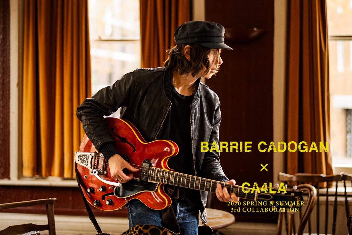 リトル・バーリーの〈バーリー・カドガン〉とCA4LAのコラボ第3弾のマリンキャップが3/1(日)より発売