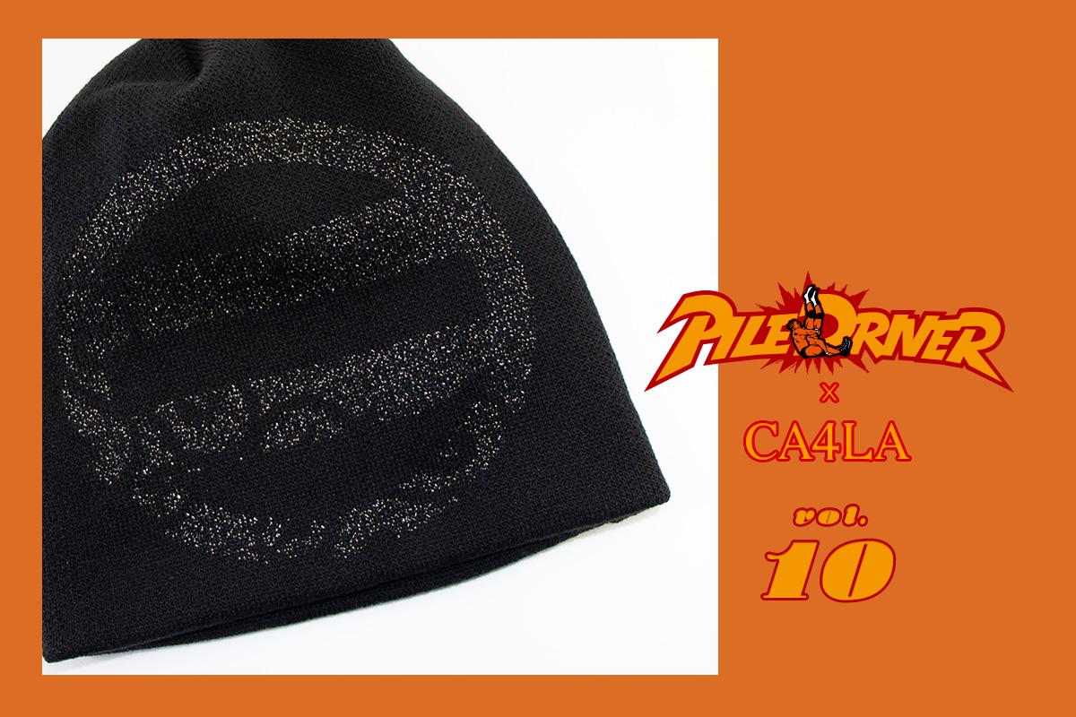 プロレスラー鈴木みのる〈パイルドライバー〉x CA4LAコラボ第10弾