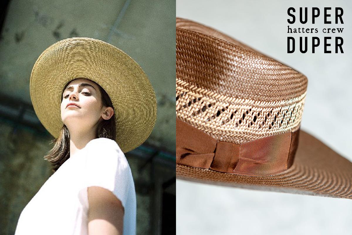 SuperDuper Hats 2020SS