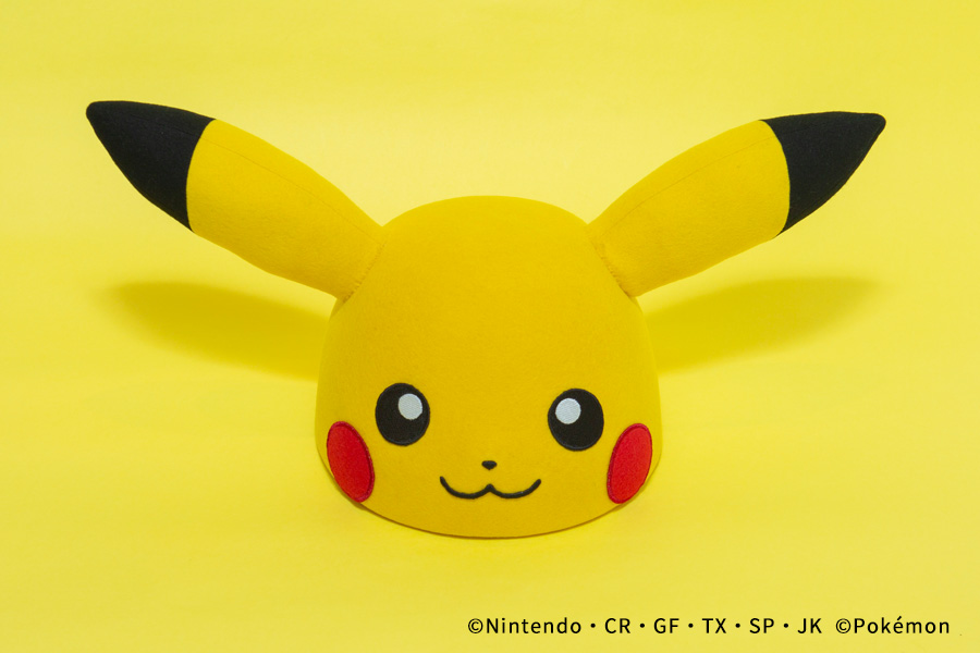 PIKACHU FACE HAT サンプル展示店舗変更のお知らせ