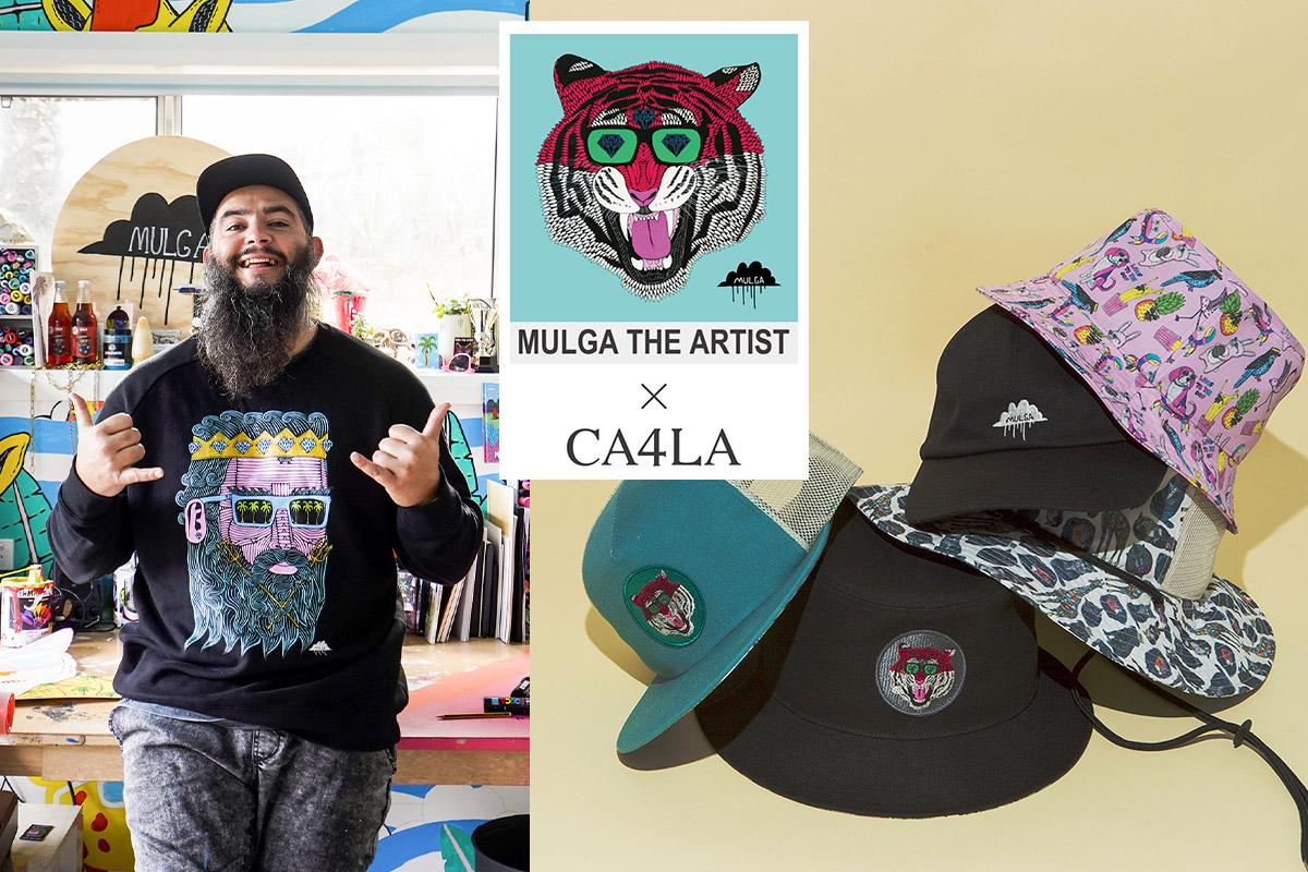 FEATURE オーストラリア発、注目の若手アーティスト「モルガ」とCA4LAのコラボレーションアイテム発売!