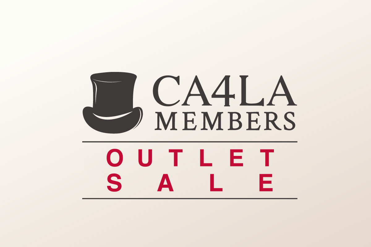2月1日(月)〜開催 CA4LA MEMBERS OUTLET SALE