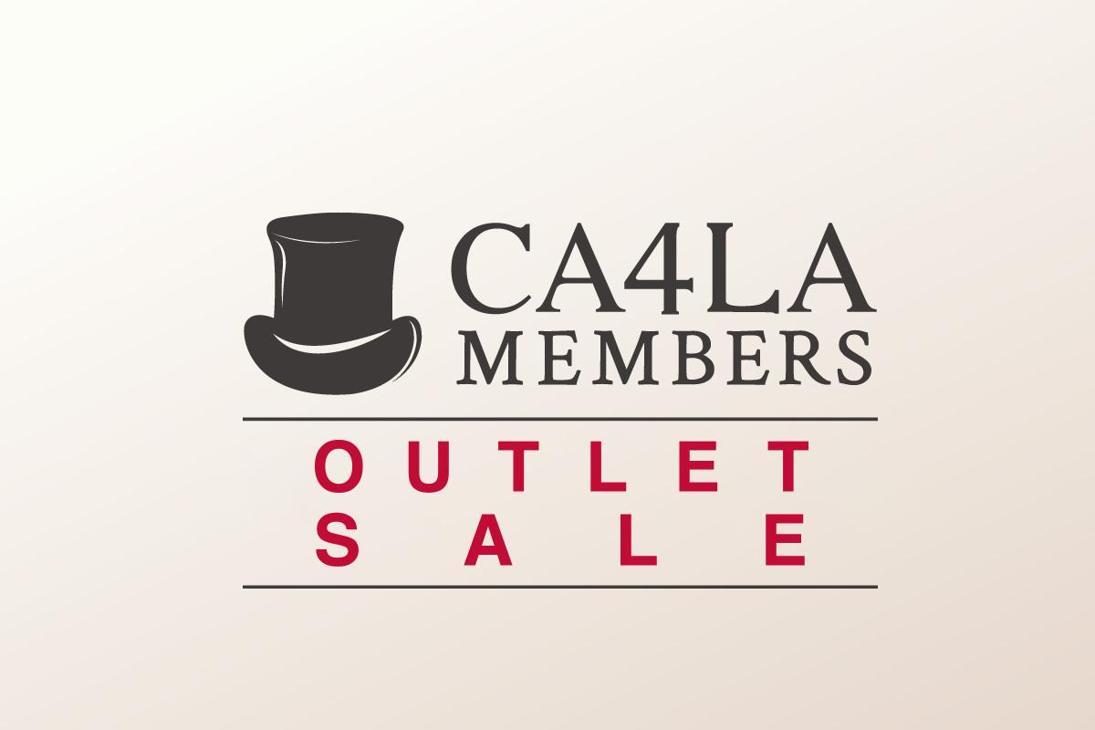 11月1日(日)〜開催 CA4LA MEMBERS OUTLET SALE
