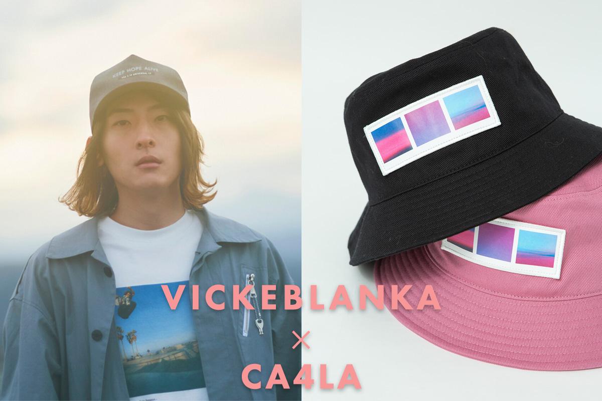 ビッケブランカ × CA4LA コラボレーションバケットハット発売