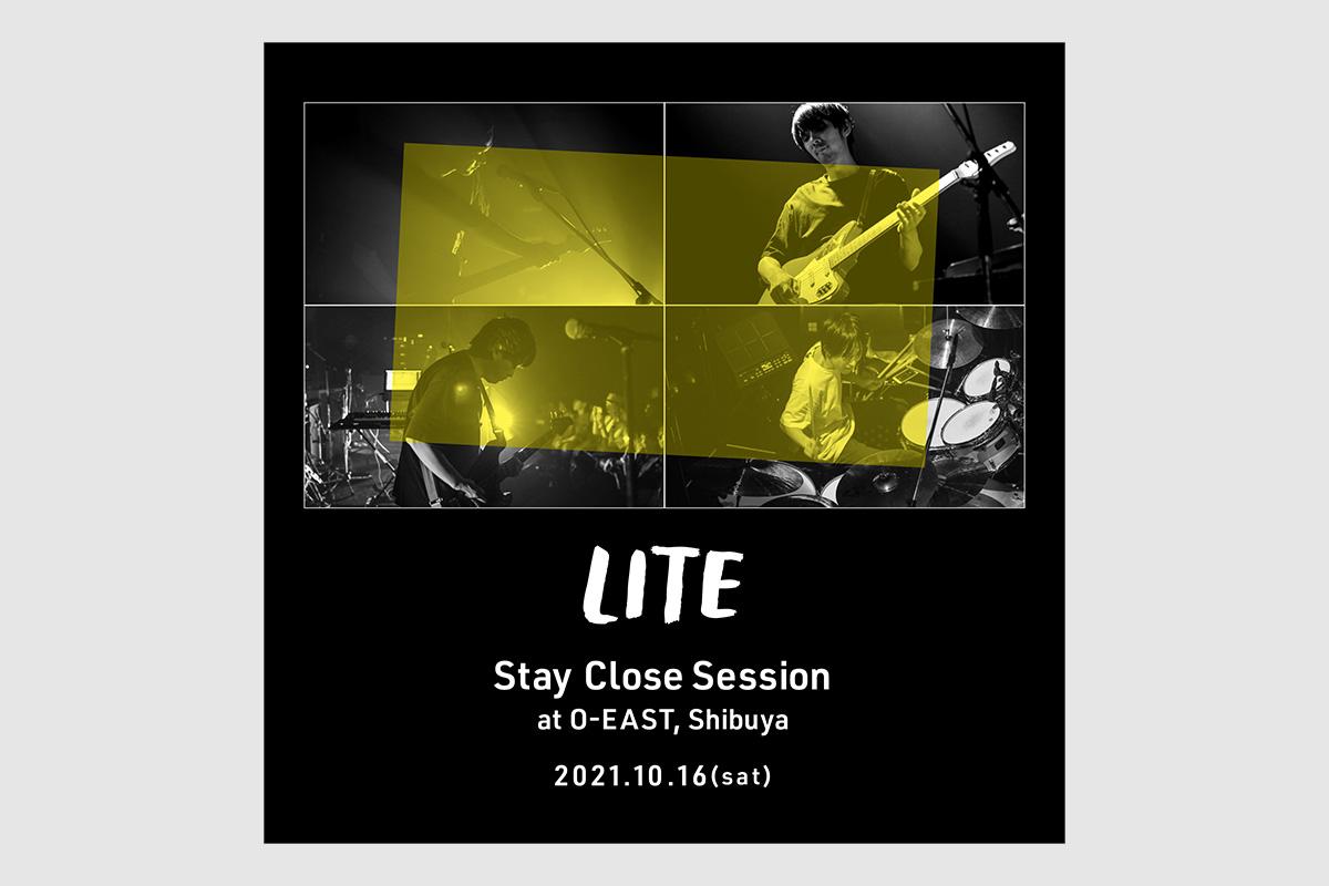 LITE × CA4LA コラボハット <br />10/16(土)ライブ会場にて発売!